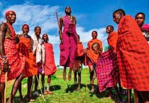 В гостях у масаев